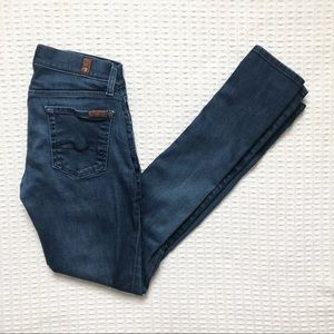 7 For All Mankind Roxanne skinny jeans size 26